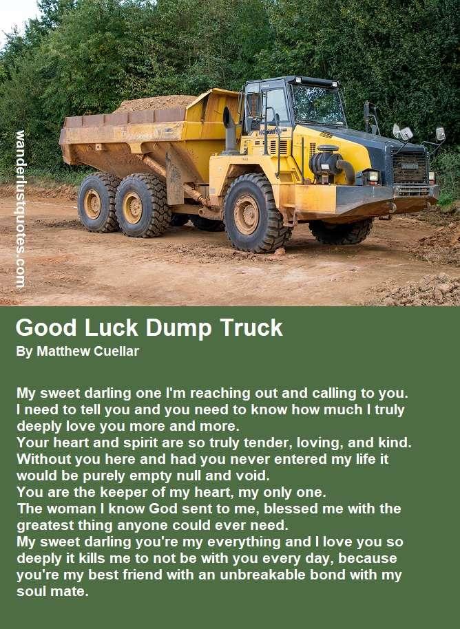 lucky dump truck