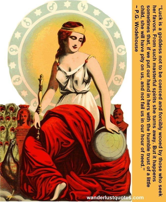 goddess of luck