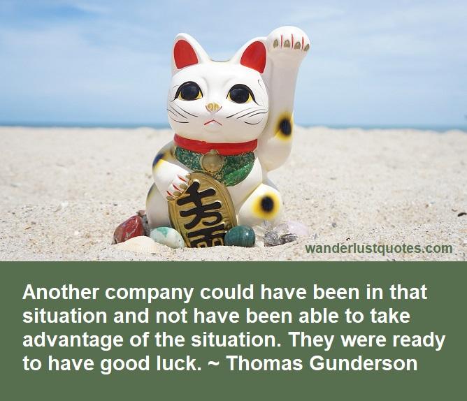 company luck