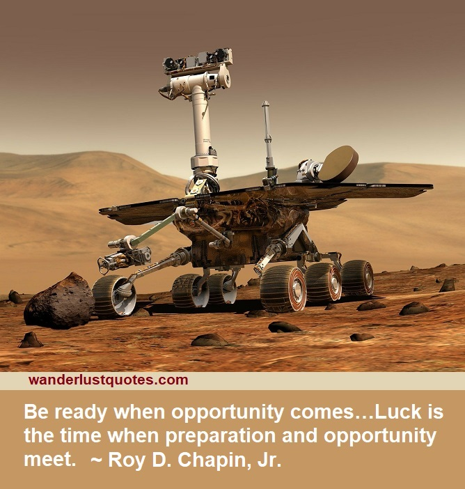 opportunity luck