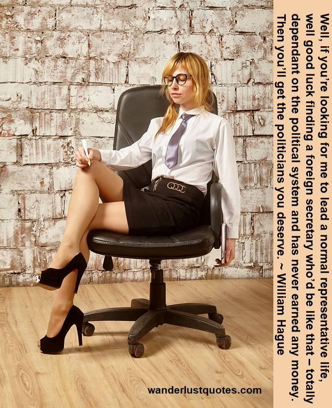 lucky secretary