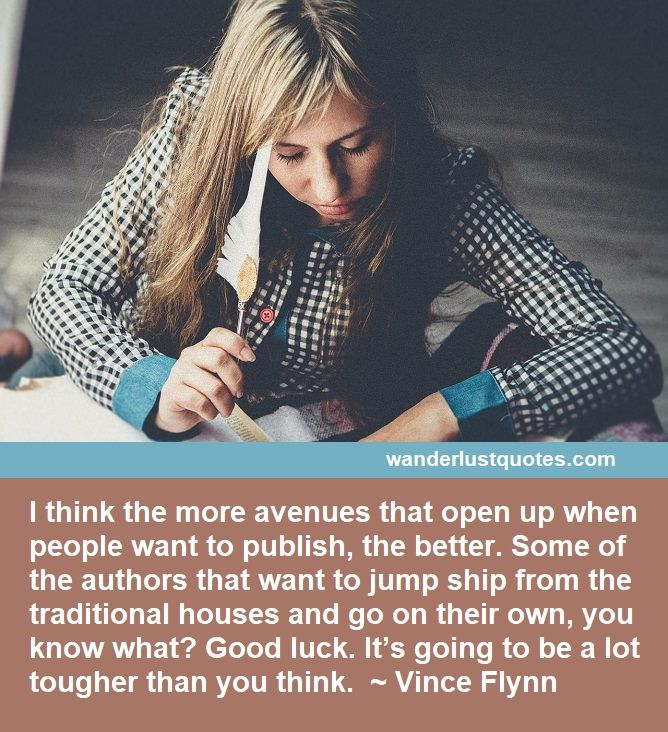 good luck writing